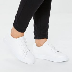 White Misguided Sneakers